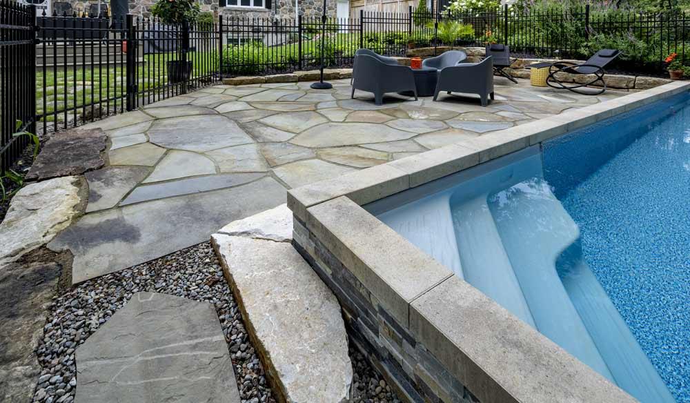 contour de piscine par paysagiste select
