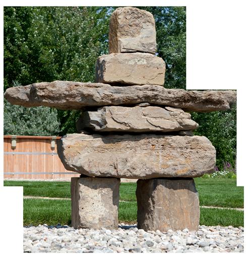 pierre naturelle amenagement paysager